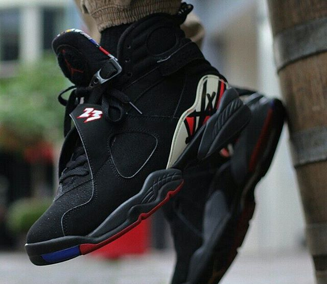 Air Jordan 8 Retro Playoff (modèle de 2007) - @bboylaspin