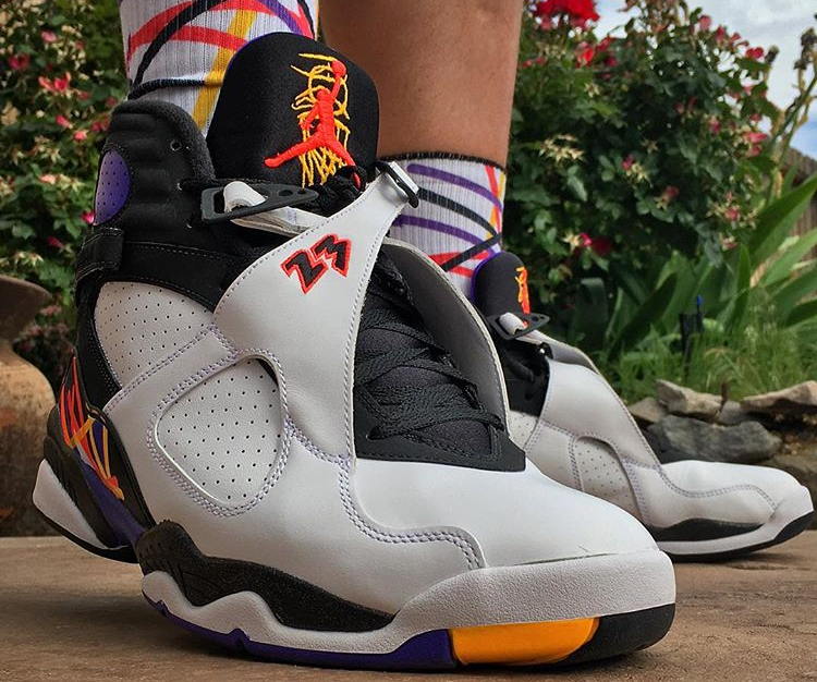 Air Jordan 8 Retro Three Peat - @jjkzomm85