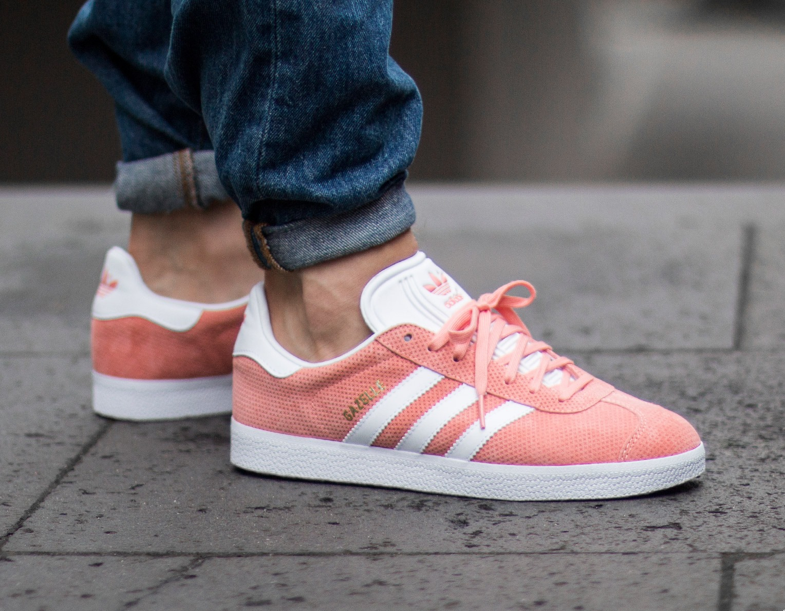 adidas originals gazelle rose
