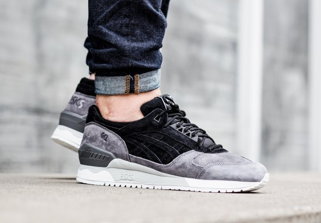 Asics Gel Respector Suede 'LT Moon Crater' Black/Grey \u0026 Moon Rock