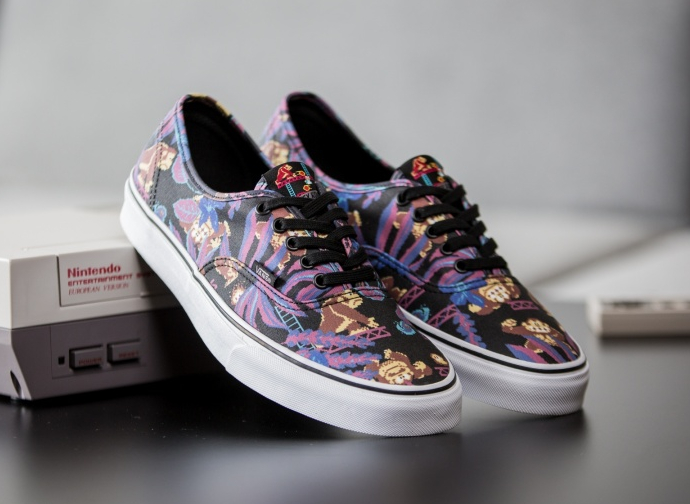 Basket Nintendo x Vans Authentic Donkey Kong (1)