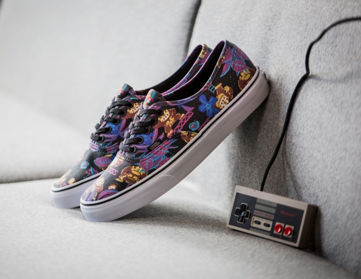 Basket Nintendo x Vans Authentic Donkey Kong (2)
