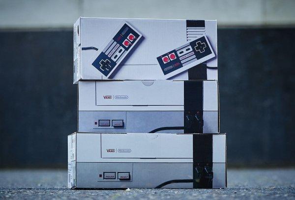 Vans 'Nintendo Nes' : Old Skool, SK8, Authentic & Era… Le meilleur de la collaboration