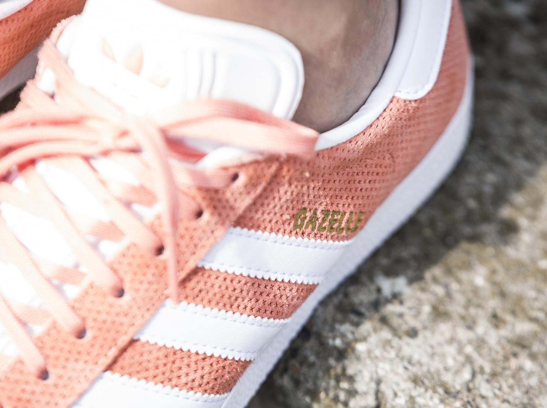 Chaussure Adidas Gazelle Suede Sun Glow (3)