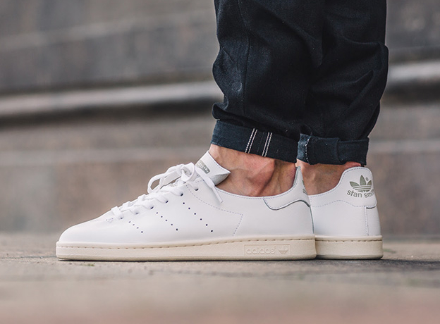 Chaussure Adidas Originals Stan Smith Leather Sock 'White' (1)