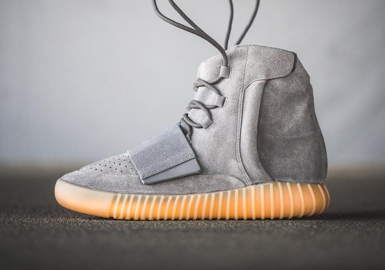 Chaussure Adidas Yeezy 750 Boost Suede 'Grey Gum' (1)