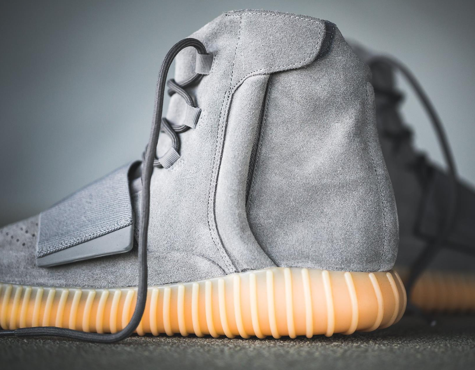 Chaussure Adidas Yeezy 750 Boost Suede 'Grey Gum' (3)