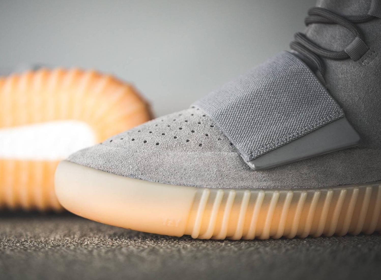 Chaussure Adidas Yeezy 750 Boost Suede 'Grey Gum' (5)