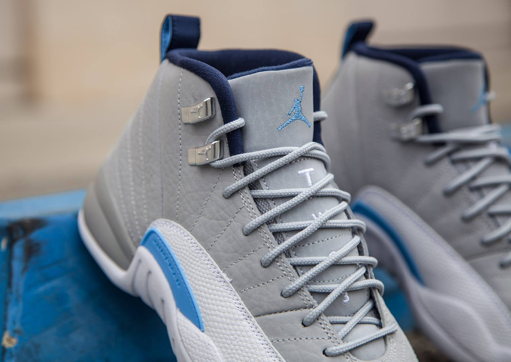 Air Jordan 12 Retro 'Wolf Grey/University Blue'