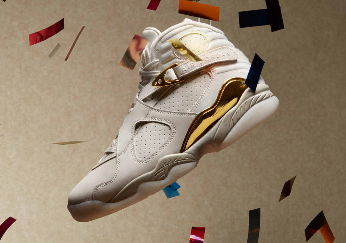 Chaussure Air Jordan 8 Rtero Celebration Champagne (1)