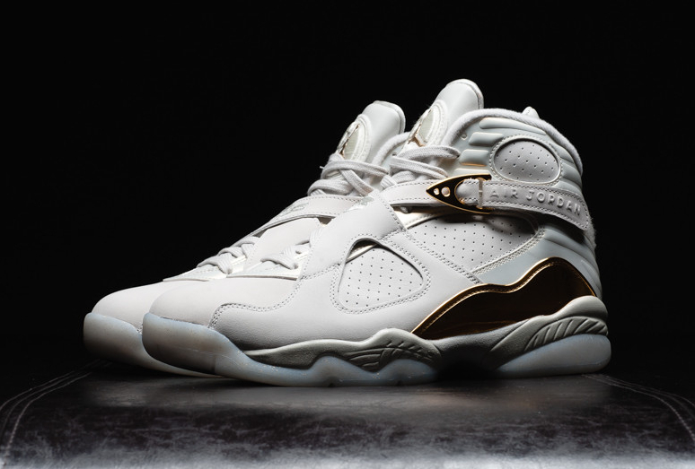 Chaussure Air Jordan 8 Rtero Celebration Champagne (2)