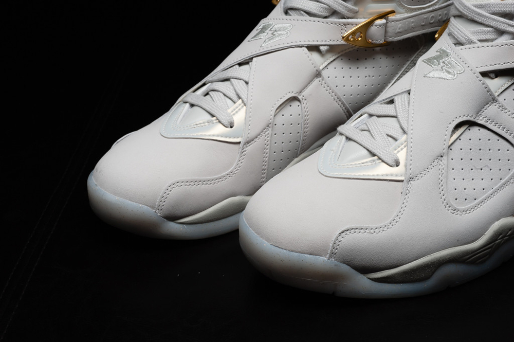 Chaussure Air Jordan 8 Rtero Celebration Champagne (8)