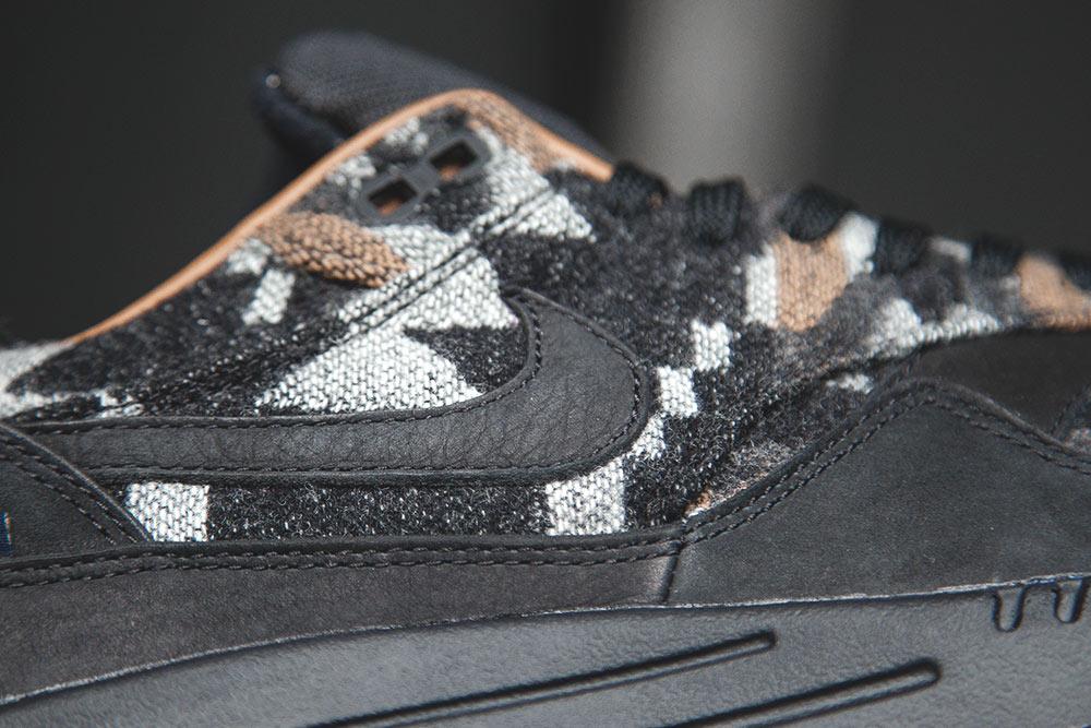 Chaussure Nike Air Max 1 QS 'Pendleton' Black Ale Brown (2)