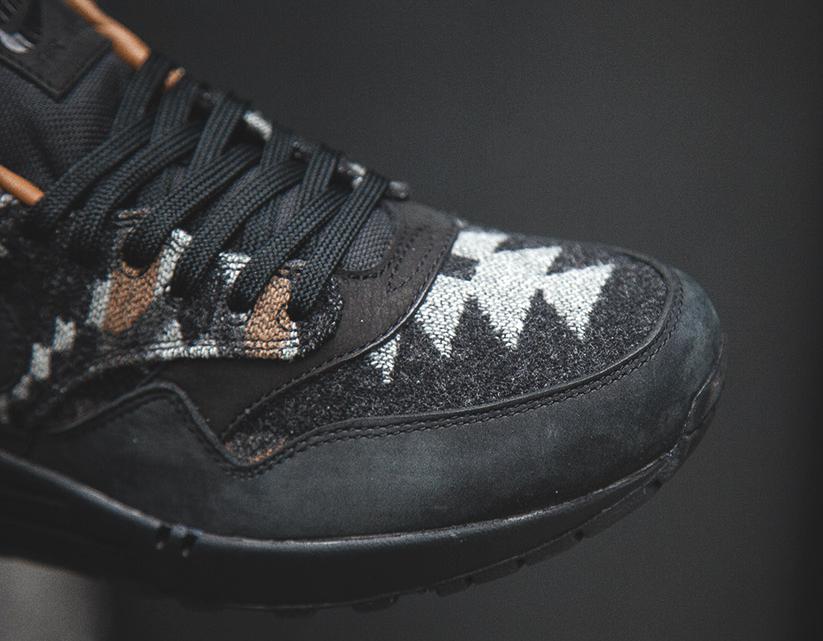 Chaussure Nike Air Max 1 QS 'Pendleton' Black Ale Brown (3)