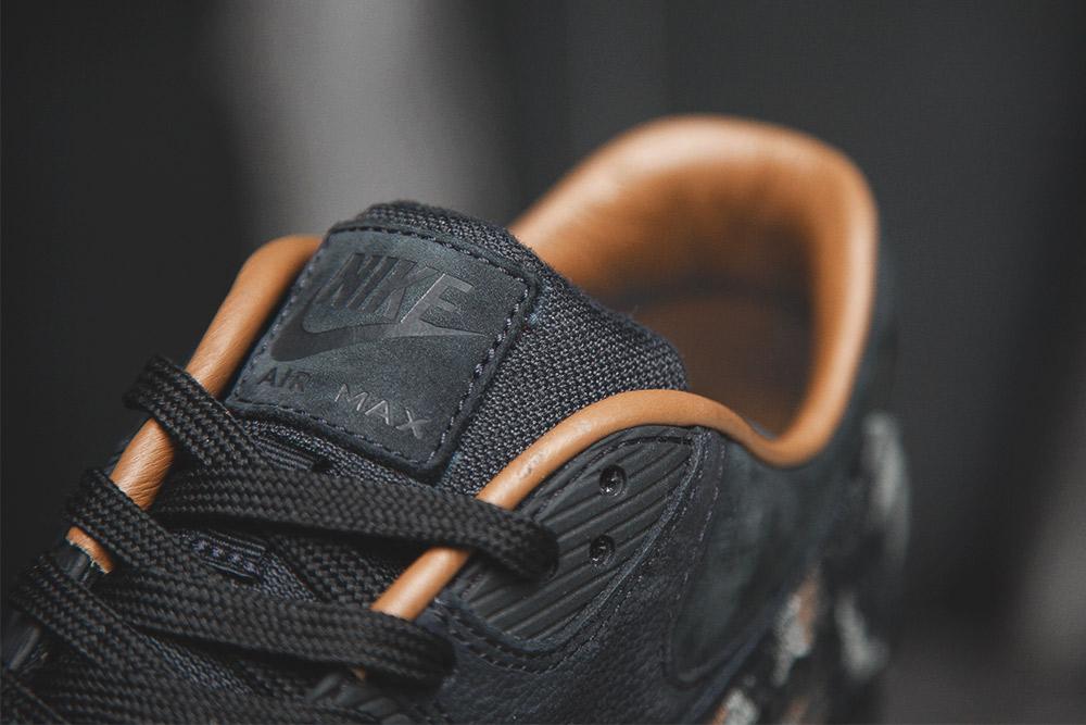 Chaussure Nike Air Max 90 QS 'Pendleton' Black Ale Brown (3)
