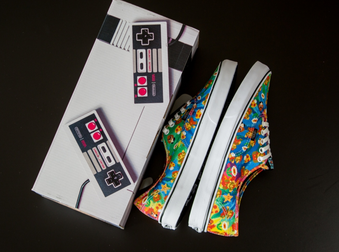 Chaussure Nintendo x Vans Authentic Super Mario Bros (2)