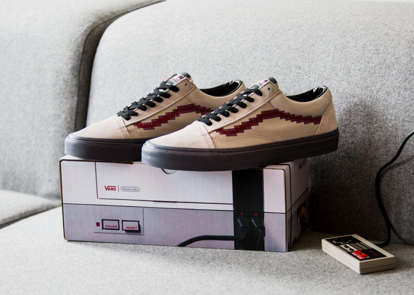 Chaussure Nintendo x Vans Old Skool Pixels (2)