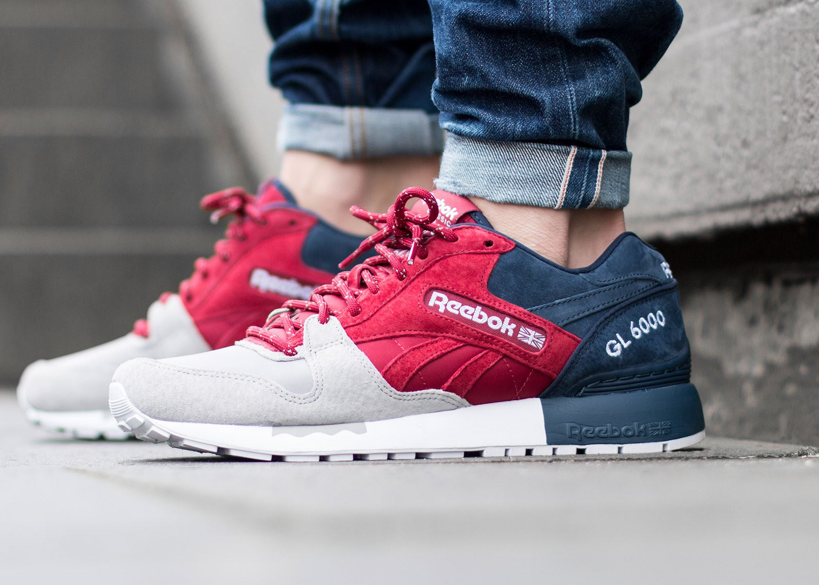 Chaussure Reebok GL 6000 SNE Cranberry Red (2)