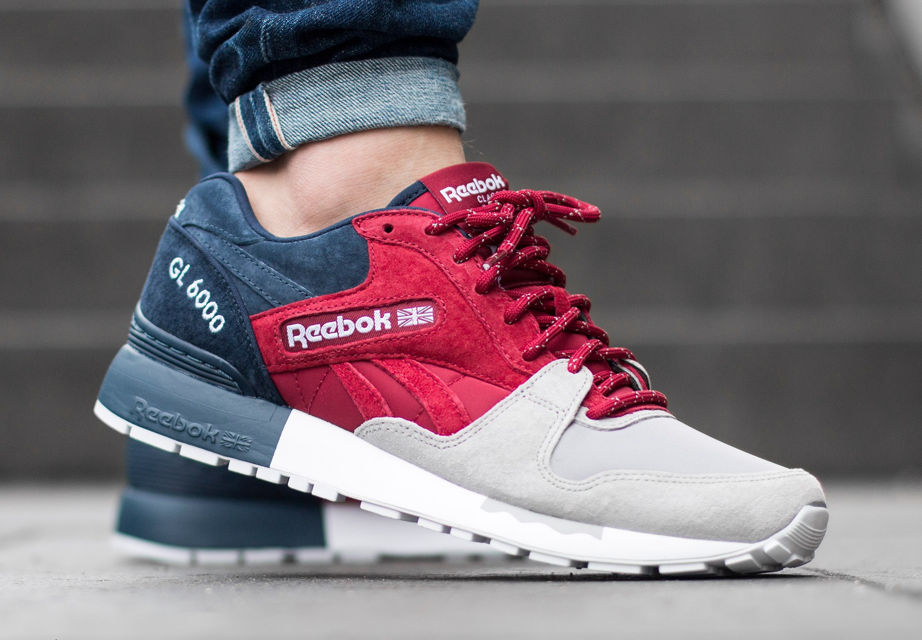 Chaussure Reebok GL 6000 SNE Cranberry Red (4)
