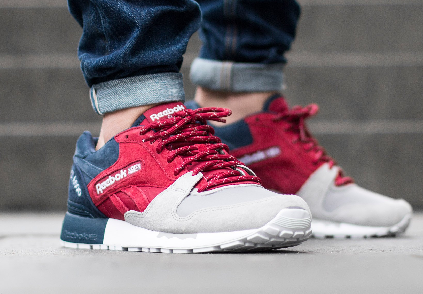 Chaussure Reebok GL 6000 SNE Cranberry Red (5)