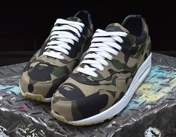 Nike Air Max 1 A Bathing Ape (2)