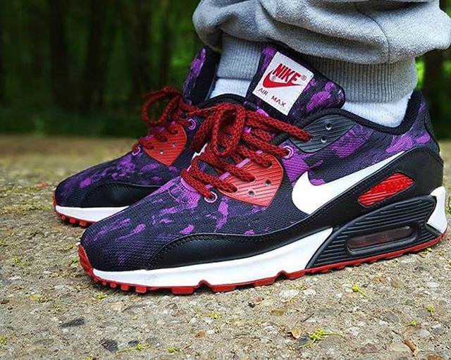 Nike Air Max 90 EM ID Purple Poison - @pattajunky