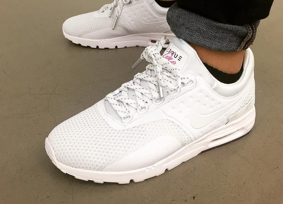 half off 8b9c9 036be Nike Air Max Zero QS 'Betrue' Blanche : où l'acheter ?