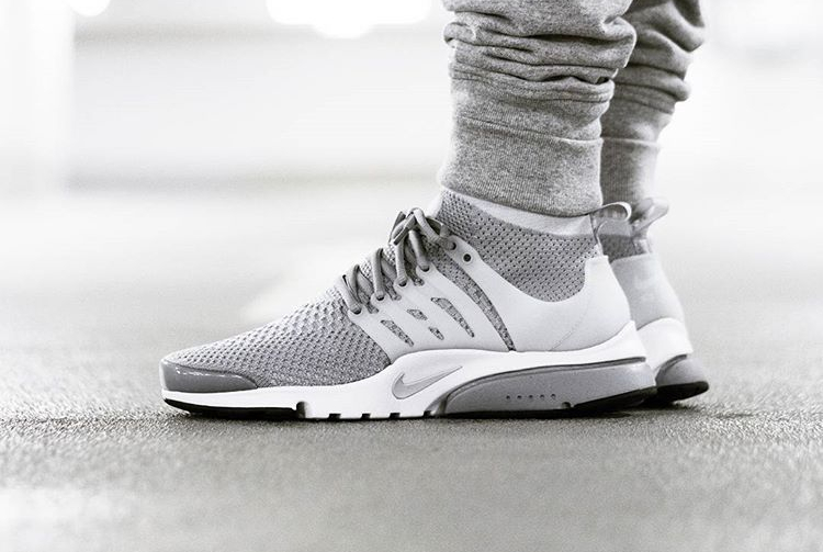 23685eb2833f Nike Air Presto Ultra Flyknit Grey -  jaybeezishangintough