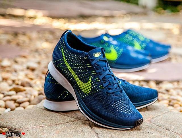 Nike Flyknit Racer Brave Blue (3)