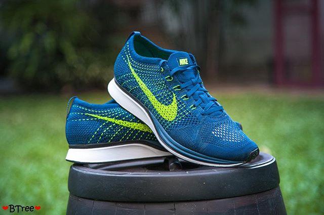 Nike Flyknit Racer Brave Blue (5)