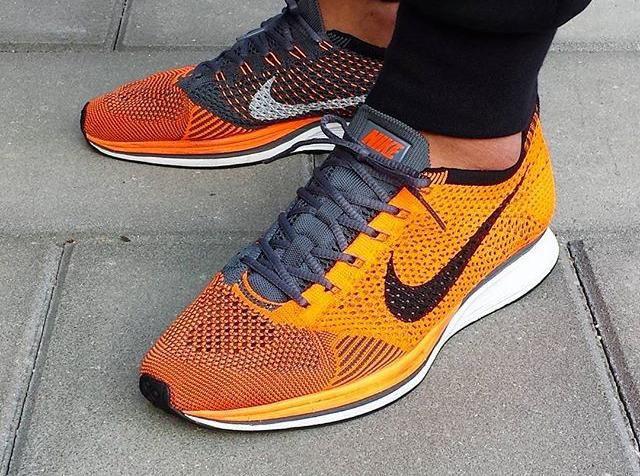 Nike Flyknit Racer Total Orange 2016 -@djamesandrew