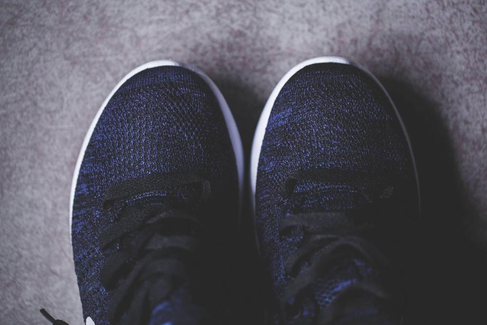Nike Lunarepic Flyknit noire et blanche (2)