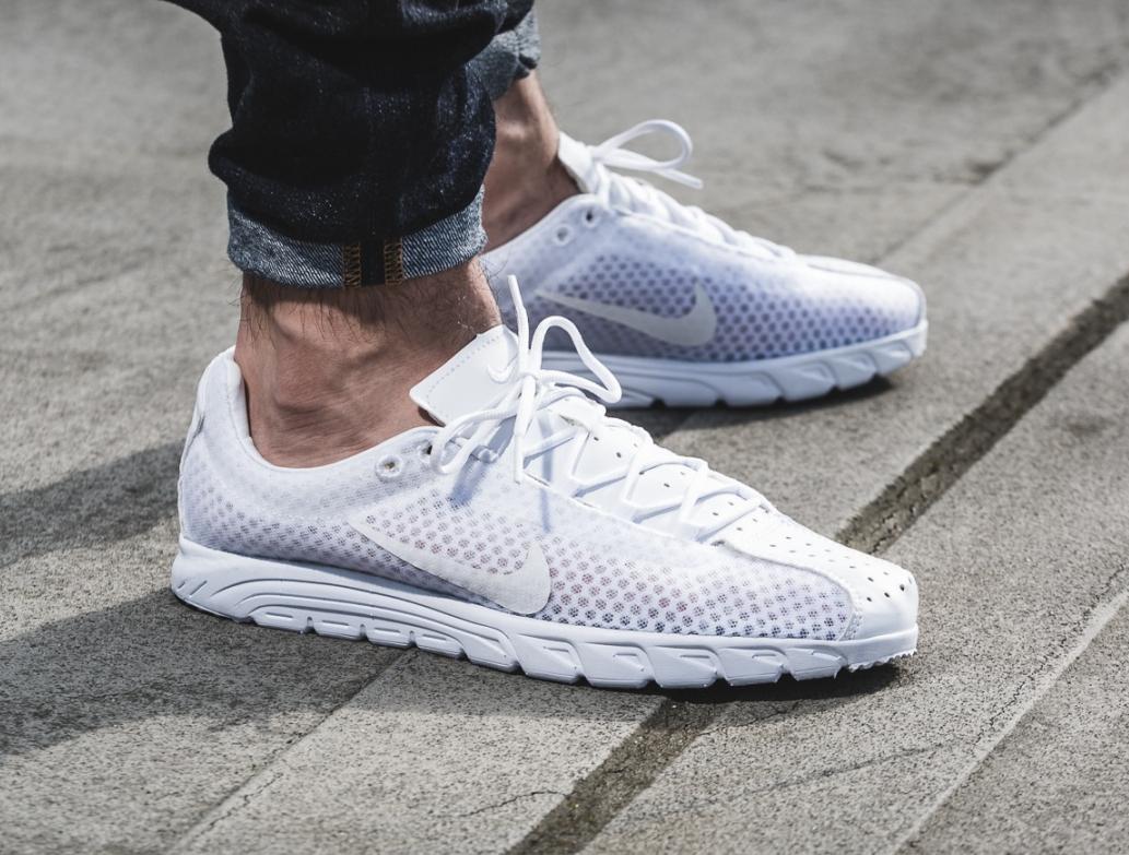 Nike Mayfly Woven Premium 'White' (1)