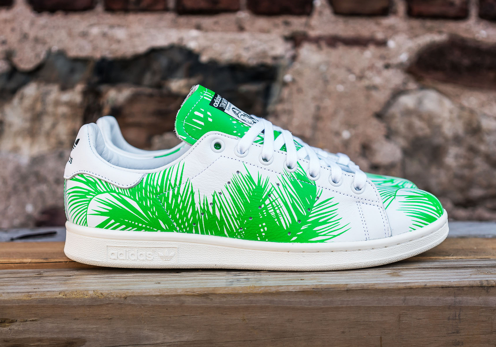 PH x BBC x Adidas Stan Smith Vivid Green (feuilles de palmier) (5)