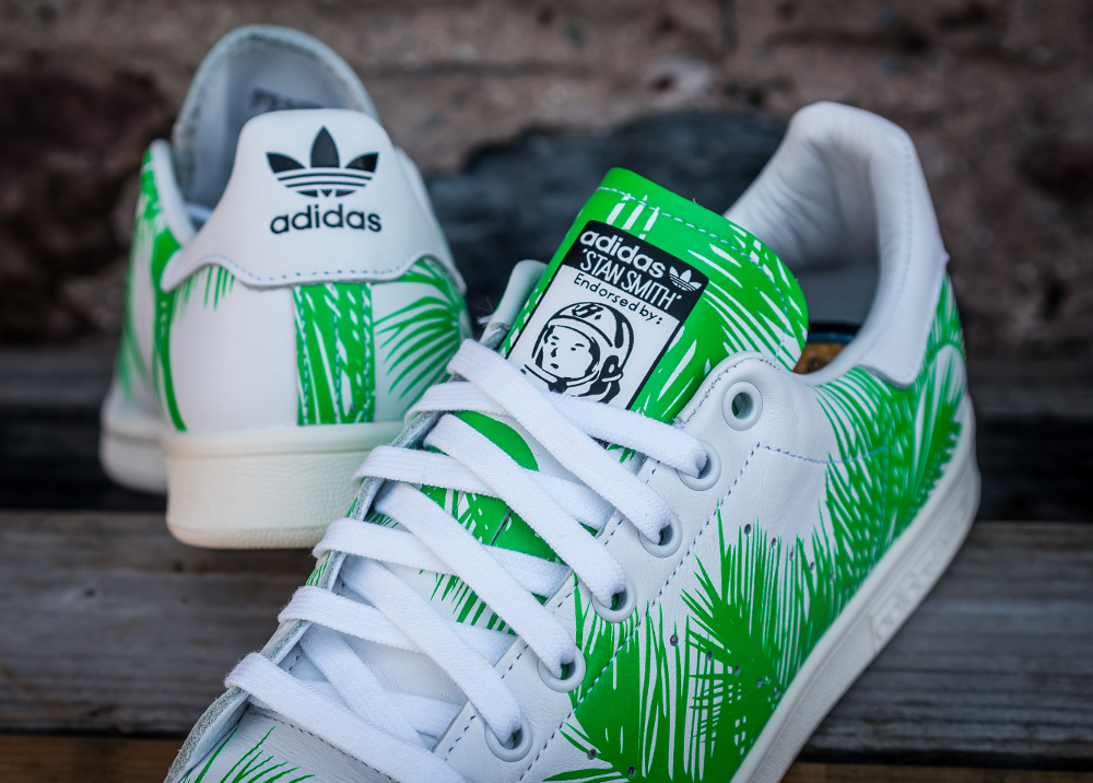PH x BBC x Adidas Stan Smith Vivid Green (feuilles de palmier) (9)