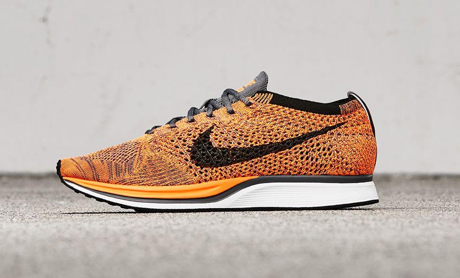 acheter Chaussure Nike Flyknit Racer 'Total Orange' (1)