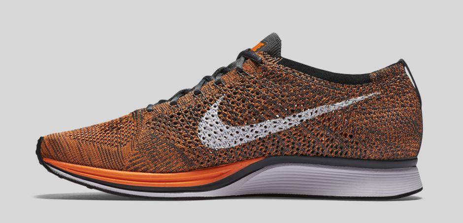 acheter Chaussure Nike Flyknit Racer 'Total Orange' (4)
