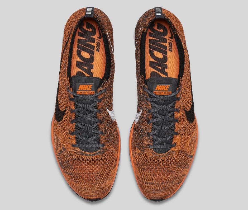 acheter Chaussure Nike Flyknit Racer 'Total Orange' (5)