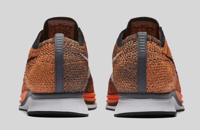 acheter Chaussure Nike Flyknit Racer 'Total Orange' (6)