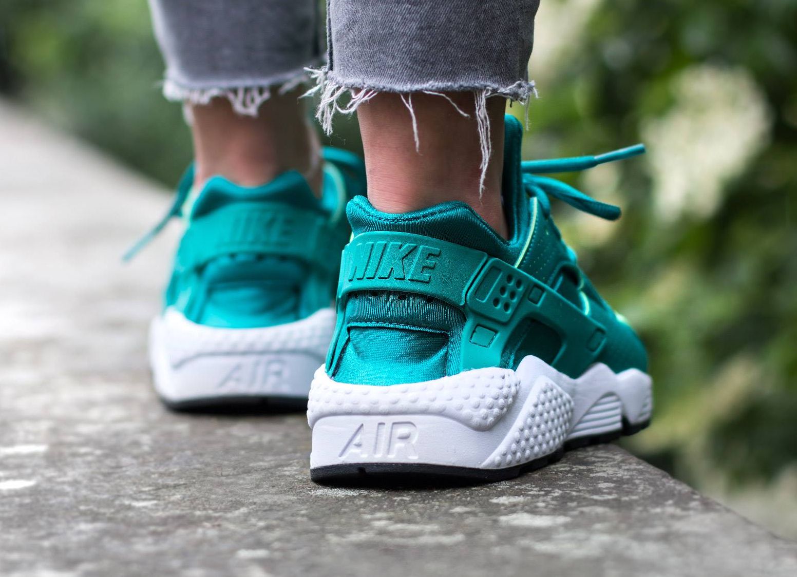 acheter basket Nike Air Huarache Turquoise Rio Teal (3)