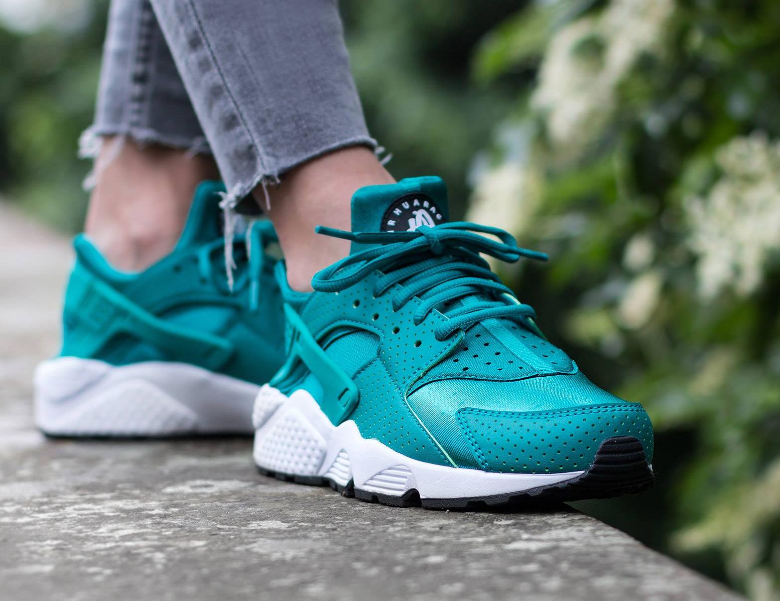 acheter basket Nike Air Huarache Turquoise Rio Teal (4)