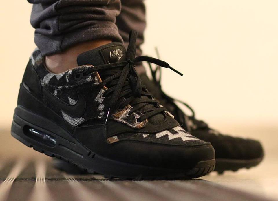 acheter basket Nike Air Max 1 QS 'Pendleton' Black Ale Brown (2)
