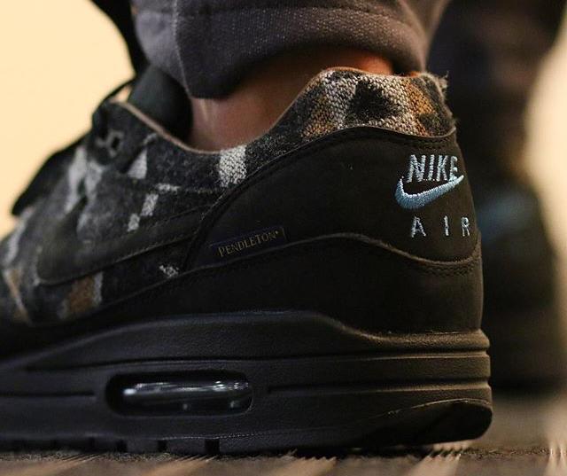 acheter basket Nike Air Max 1 QS 'Pendleton' Black Ale Brown (3)