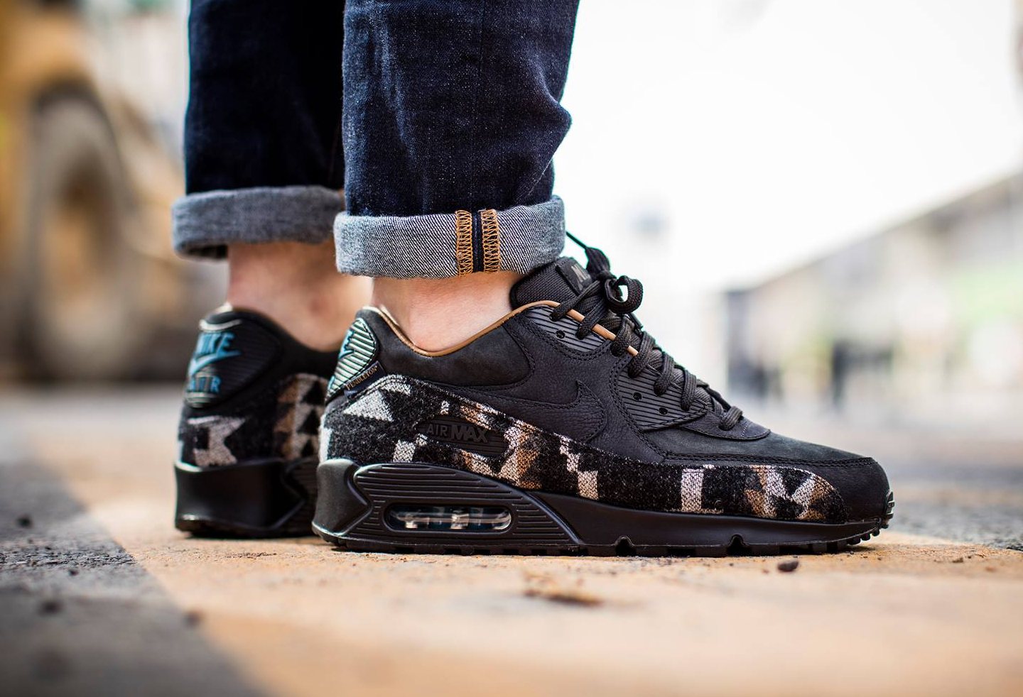 separation shoes cfab1 2fa48 nike air max 90 qs pendleton