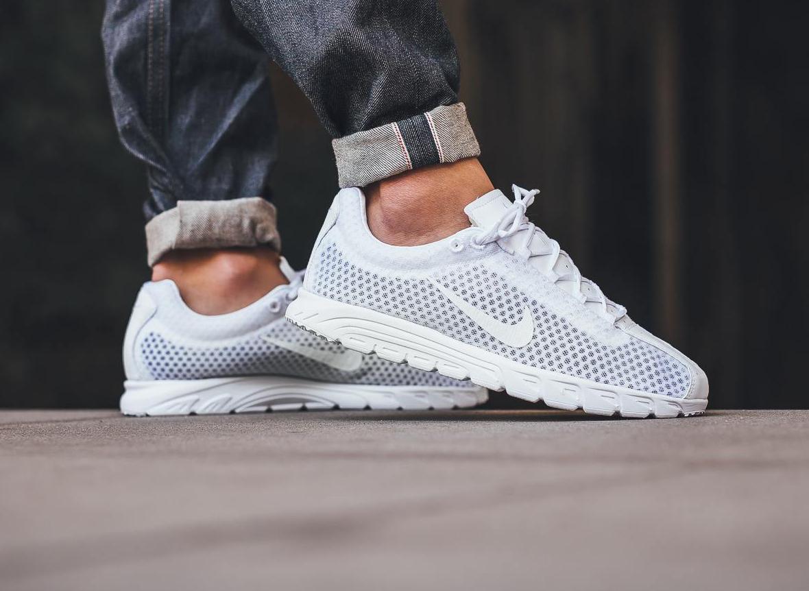 top quality fresh styles new style Nike Mayfly Premium 'Triple White' (blanche)