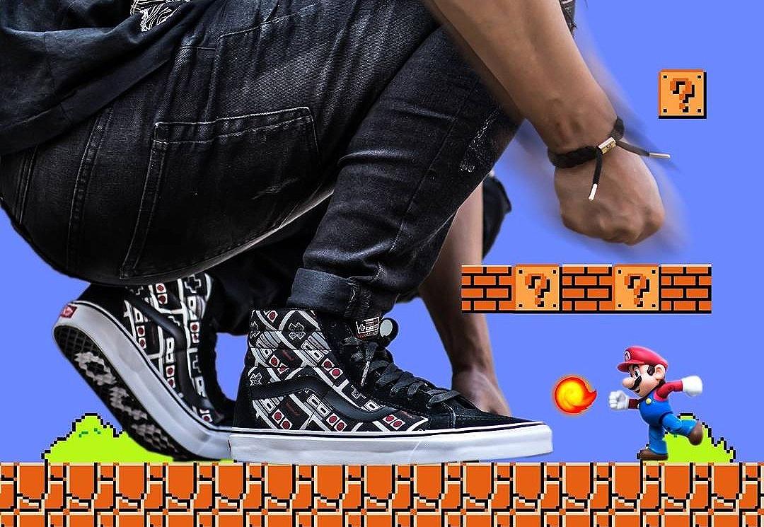 acheter basket Nintendo Nes x Vans SK8 Hi Reissue 'Controller' (manettes) (1)