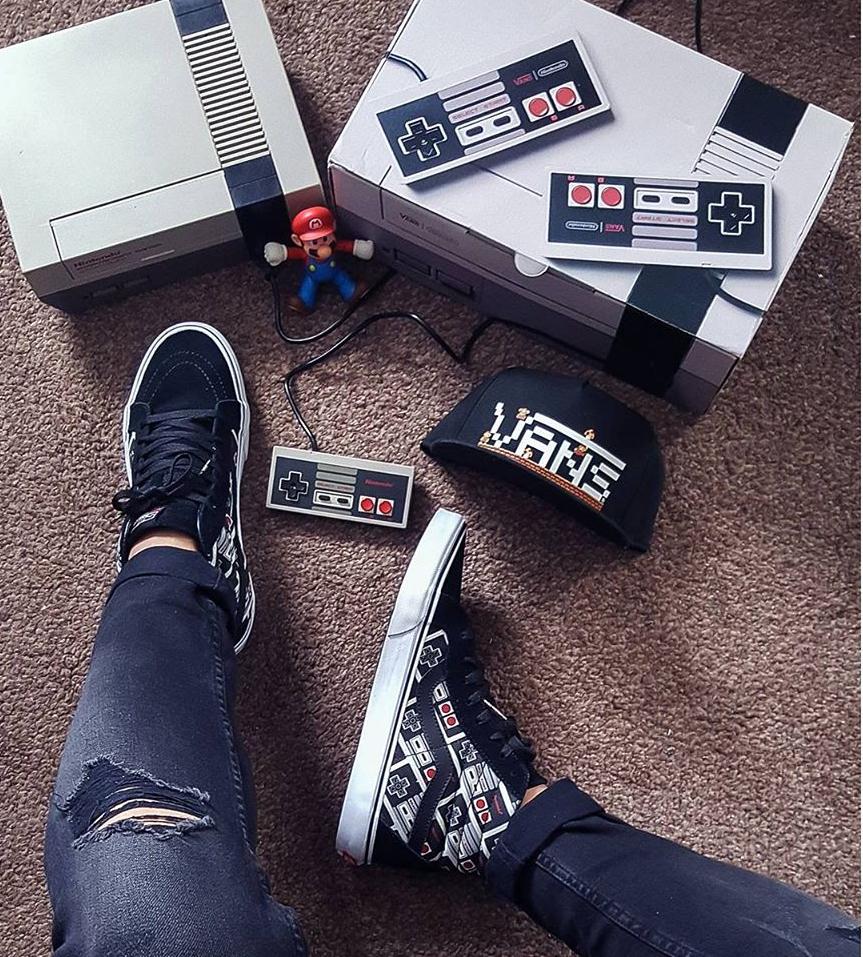 acheter basket Nintendo Nes x Vans SK8 Hi Reissue 'Controller' (manettes) (3)