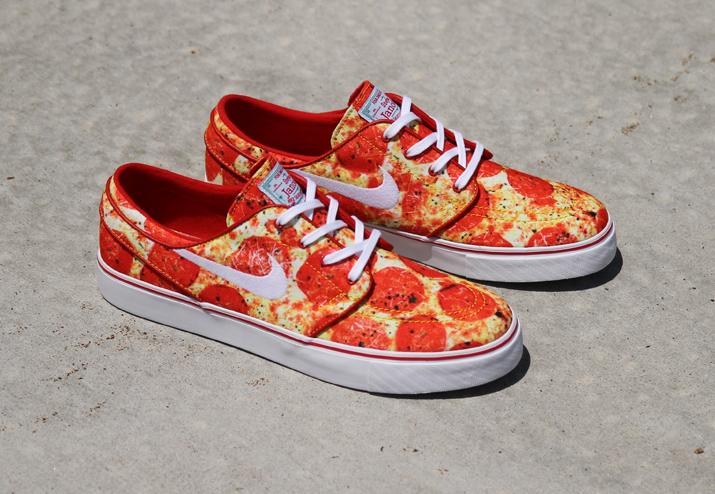 acheter basket Skate Mental x Nike SB Janoski 'Pepperoni Pizza' (2)