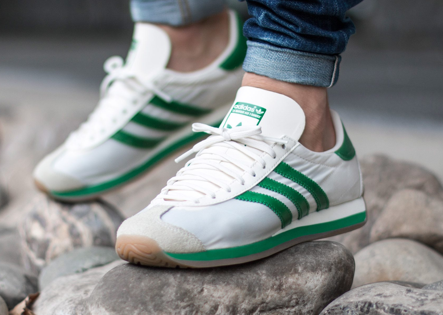 Adidas Country OG 'Chalk WhiteGreenGum' 2016