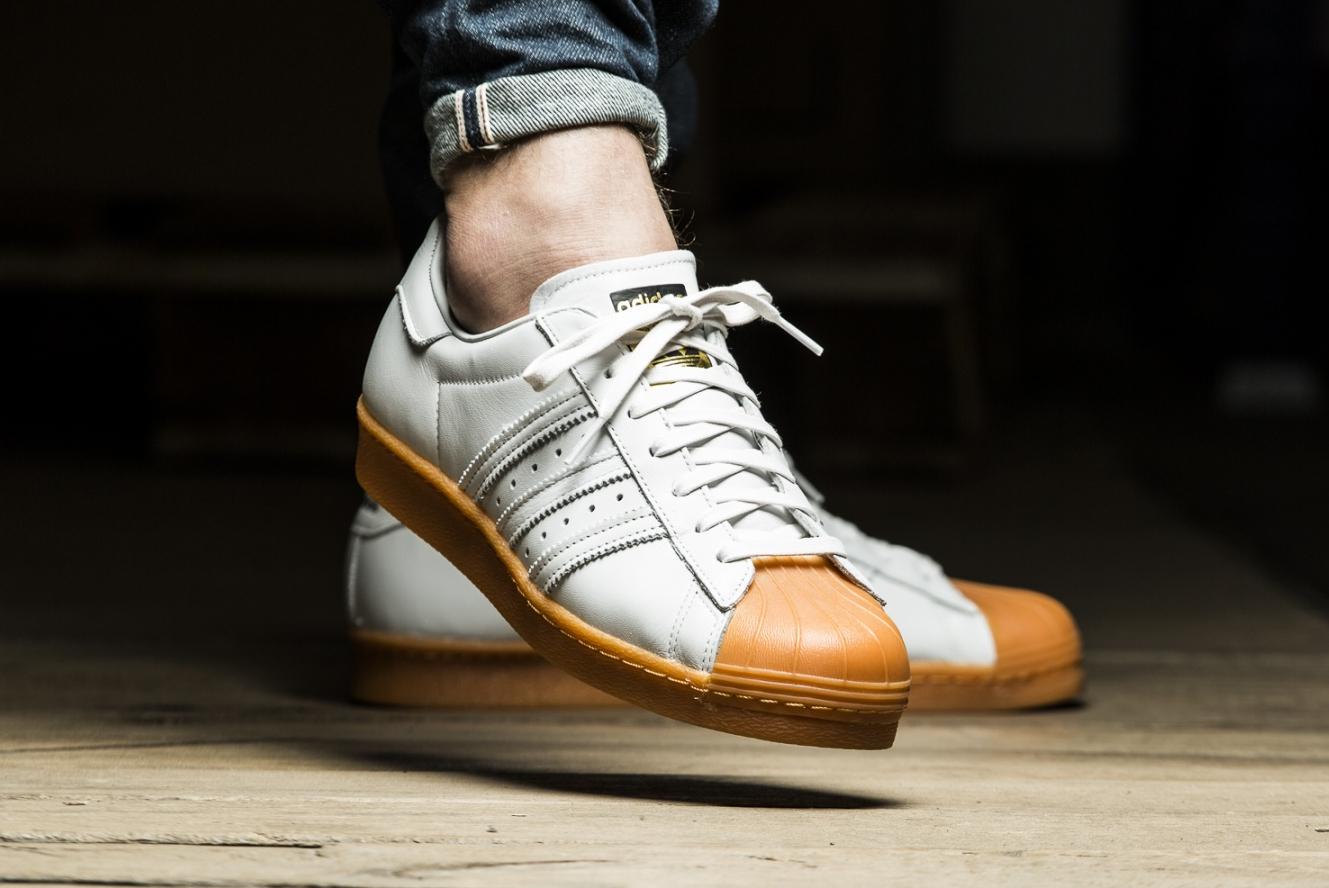 acheter chaussure Adidas Superstar 80's DLX Gum Shell Toe (2)